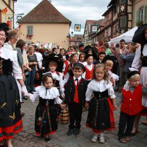 Wine-maker Festival in Eguisheim