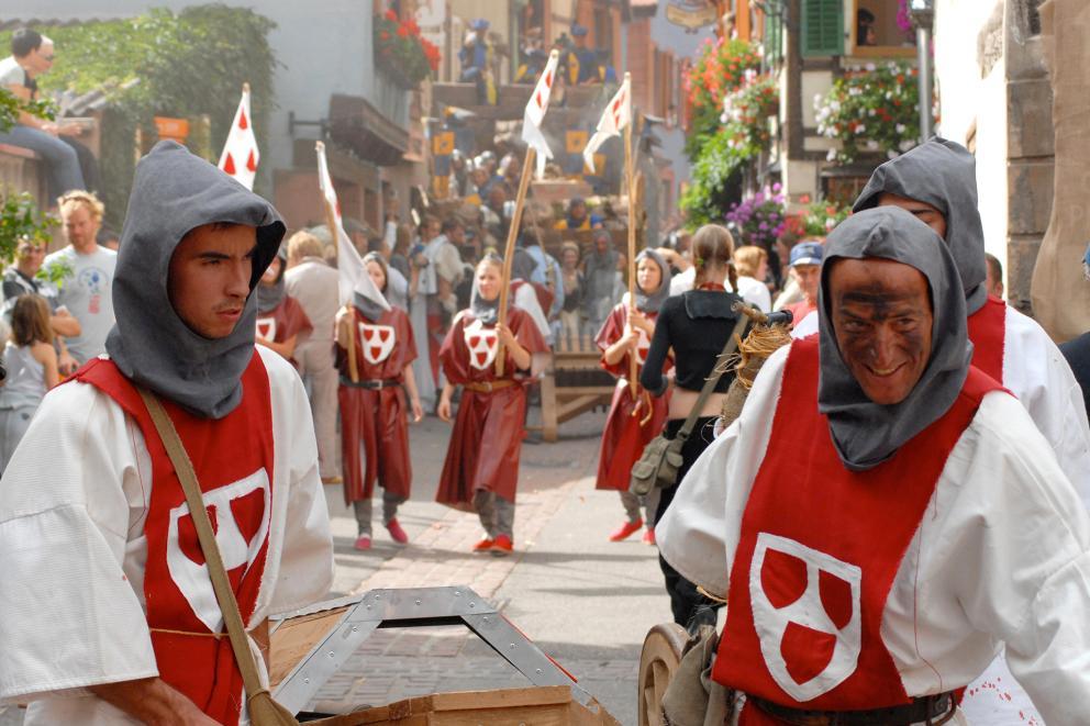 Fête des ménétriers (Fest der Dorfmusikanten)