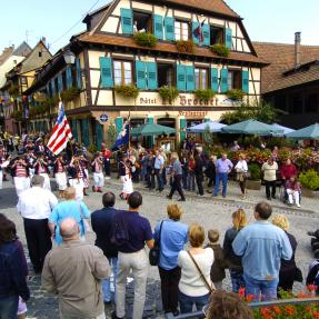 Fête des Vendanges (Grape Harvest Festival) of Barr