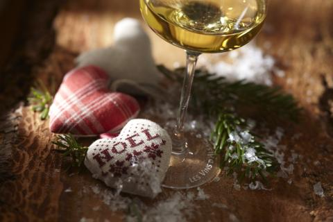 Weihnachten beim Elsässer Winzer