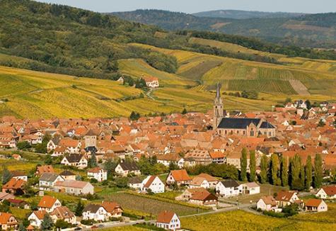Autour de Dambach-La-Ville