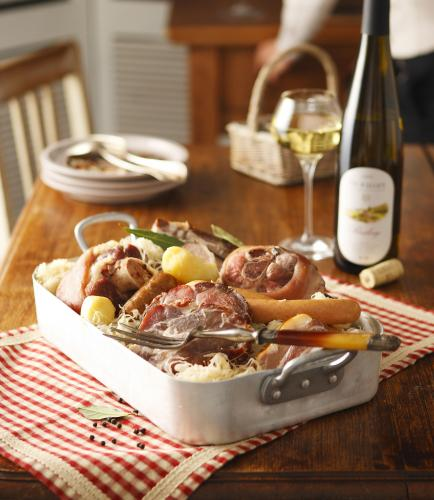 Cuisine: Alsace dishes and specialities - Vins d\'Alsace