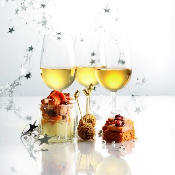 Bouchées de foie gras & chutney de figue