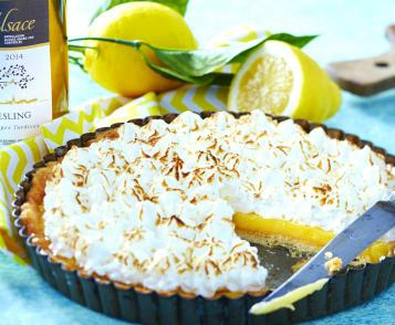 Tarte citron-meringue