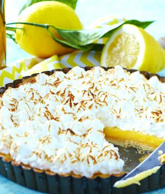 Tarte citron-meringue
