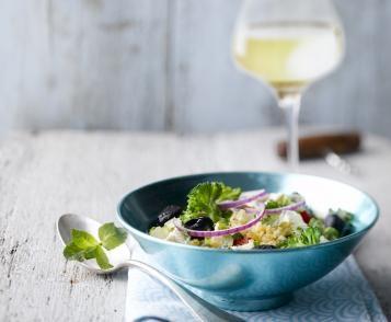 Salade de boulgour façon grecque