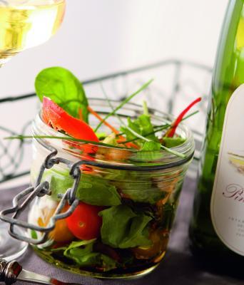 Salade croustillante de Gambas