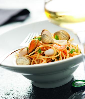 Seafood spaghetti