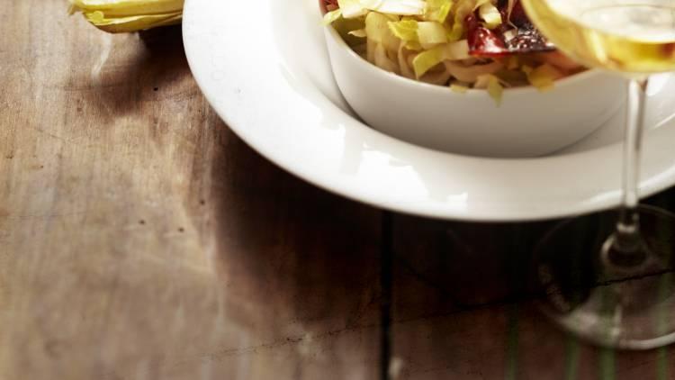 salade d'endives au chorizo